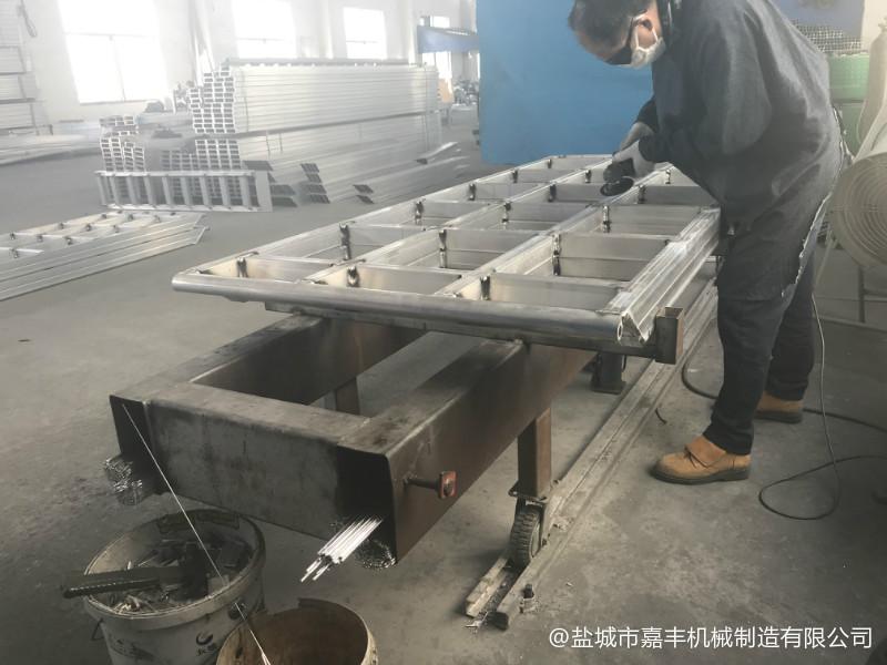 集装箱拼装式移动液压装卸平台的用途