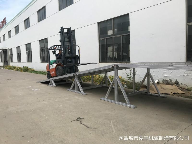 货台分段式液压式移动装卸平台照片