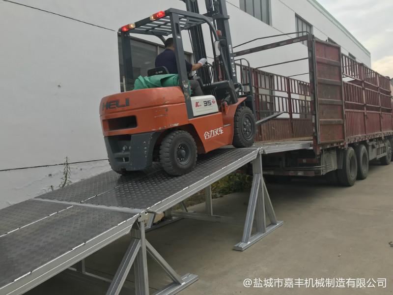 港口组合式移动式液压登车桥求购
