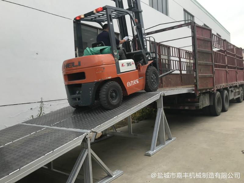 货车标准机械式卸货平台零件
