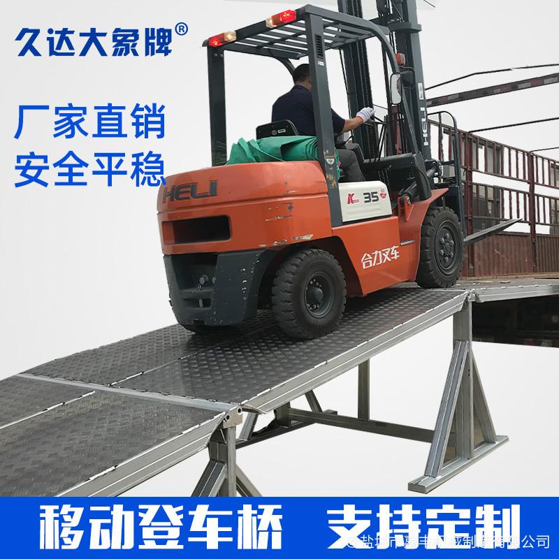 站台分段式机械装卸平台平台