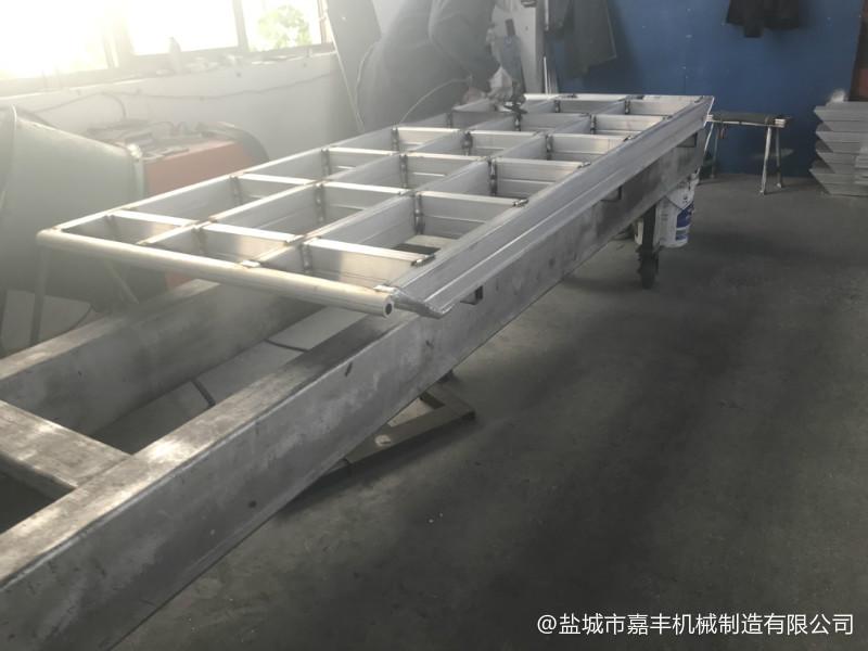 商场可拆式液压移动式登车桥图片